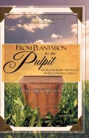 Cover of: From Plantation to the Pulpit | Paris Lee Smith