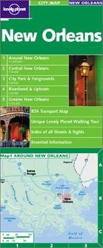 Cover of: Lonely Planet New Orleans City Map