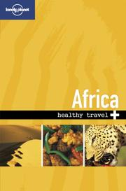 Cover of: Lonely Planet Healthy Travel Africa (Lonely Planet Healthy Travel Guides Africa) | Lonely Planet Publications
