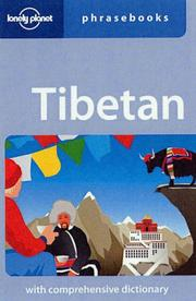 Cover of: Lonely Planet Tibetan Phrasebook