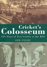 Cover of: Cricket's Colosseum