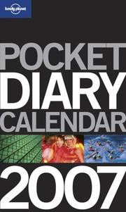 Cover of: Lonely Planet 2007 Diary (Lonely Planet Diary)