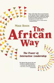 Cover of: The African Way