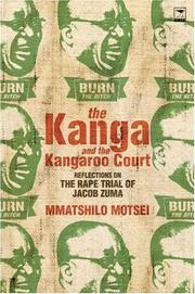 Cover of: The Kanga and the Kangaroo Court | Mmatshilo Motsei