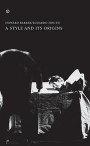 Cover of: A Style and Its Origins