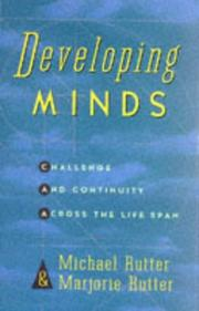 Cover of: Developing minds