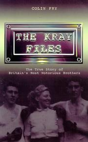 Cover of: The Kray Files