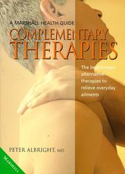 Cover of: Complementary Therapies (Marshall Health Guides)