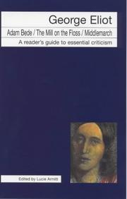 Cover of: George Eliot (Icon Reader's Guides to Essential Criticism)