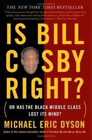 Cover of: Is Bill Cosby Right? | Michael Eric Dyson