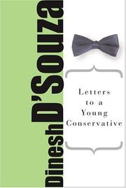 Cover of: Letters To A Young Conservative (The Art of Mentoring)