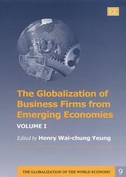 Cover of: The Globalization of Business Firms from Emerging Economies (The Globalization of the World Economy)