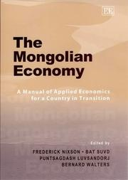 Cover of: The Mongolian Economy |