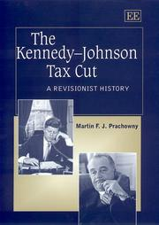 Cover of: The Kennedy-Johnson Tax Cut
