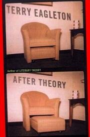 Cover of: After theory