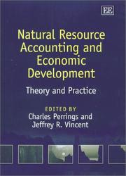 Cover of: Natural Resource Accounting and Economic Development |