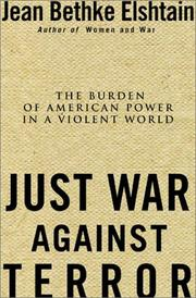 Cover of: Just War Against Terror