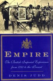 Cover of: Empire: The British Imperial Experience, from 1765 to the Present