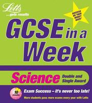 Cover of: Science (Revise GCSE in a Week)