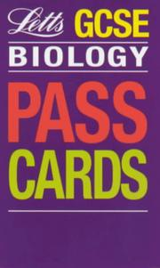 Cover of: GCSE Passcards Biology (Keyfacts GCSE Passcards)