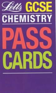 Cover of: GCSE Passcards Chemistry (Keyfacts GCSE Passcards)