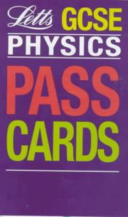 Cover of: GCSE Passcards Physics (Keyfacts GCSE Passcards)