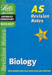 Cover of: Biology (Letts AS Revision Notes)
