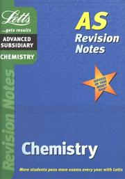 Cover of: Chemistry (Letts AS Revision Notes)
