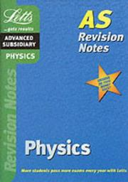 Cover of: Physics (Letts Revision Notes)