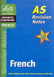 Cover of: French (Letts Revision Notes)