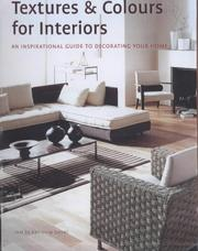 Cover of: Textures and Colours for Interiors