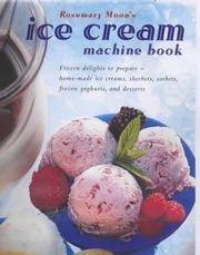 Cover of: The Ice Cream Machine Book