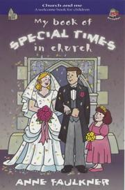 Cover of: My Book of Special Times in Church (Church & Me)