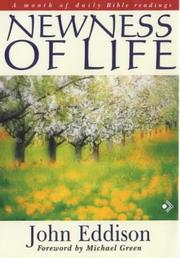 Cover of: Newness of Life | John Eddison