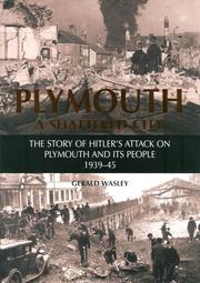 Cover of: Plymouth a Shattered City