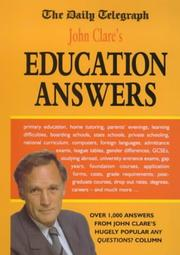 "Cover of: John Clare's Education Answers (The ""Daily Telegraph"")"