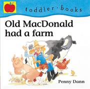 Cover of: Old MacDonald Had a Farm (Toddler Books)