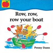 Cover of: Row, Row, Row Your Boat (Toddler Books)