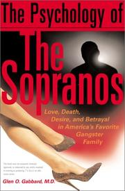 Cover of: The Psychology of the Sopranos