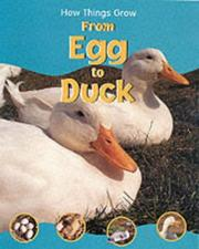 Cover of: From Egg to Duck (How Things Grow)