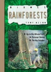 Cover of: Rainforests (Biomes)