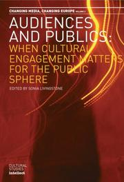 Cover of: Audiences and Publics | Sonia Livingstone