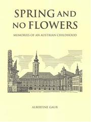 Cover of: Spring And No Flowers