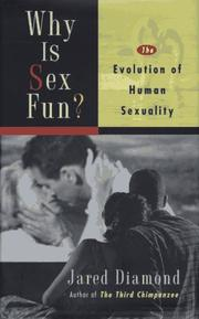 Cover of: Why is sex fun? | Jared Diamond