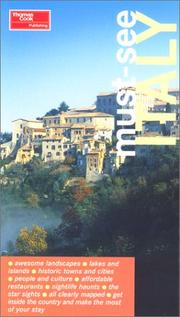 Cover of: Must-See Italy