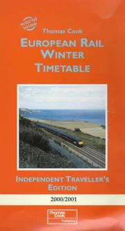 European Rail Winter Timetable (World Wise) by