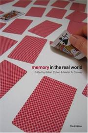 Cover of: Memory in the Real World | Cohen/Conway