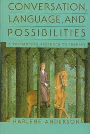 Cover of: Conversation, language, and possibilities