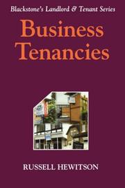 Cover of: Business Tenancies (Landlord & Tenant)