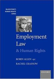 Cover of: Employment Law and Human Rights (Blackstone